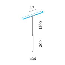 Stube on track 48v studio wever ducre suspension pendant light  wever et ducre 170365b3  design signed nedgis 127163 thumb