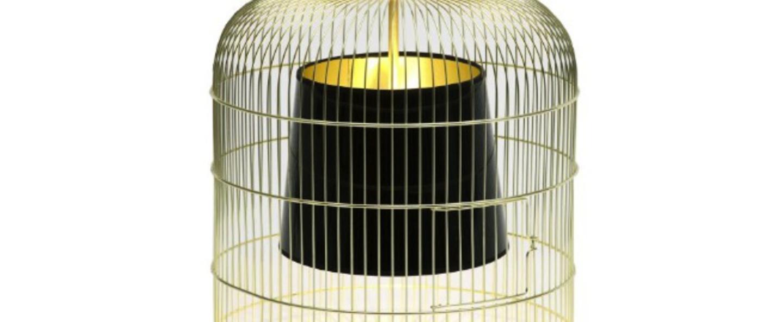 Suspension sunset gm laiton noir h78cm o52cm ascete normal