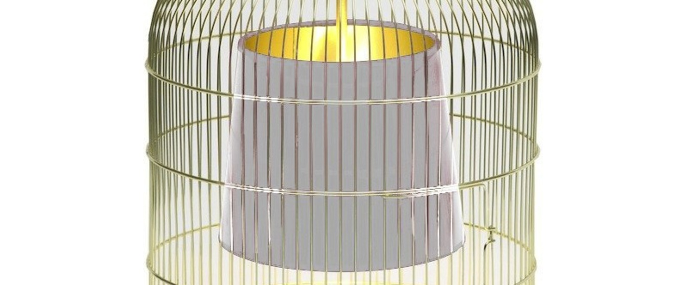 Suspension sunset mm laiton blanc h55cm o39cm ascete normal
