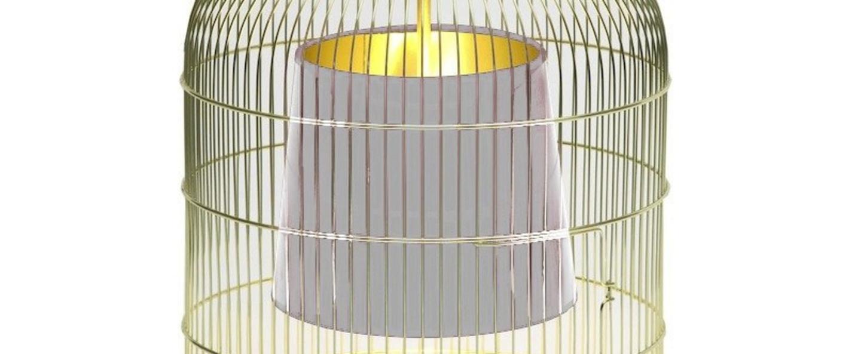 Suspension sunset pm laiton blanc h45cm o32cm ascete normal