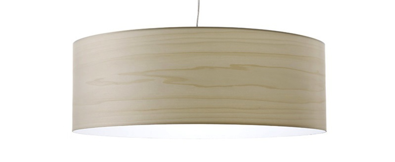 Suspension super gea blanc ivoire led o70cm h25cm lzf normal