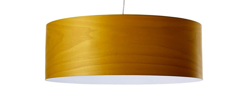 Suspension super gea jaune led h25cm o70cm lzf normal