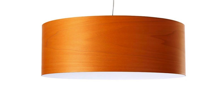 Suspension super gea orange led h25cm o70cm lzf normal