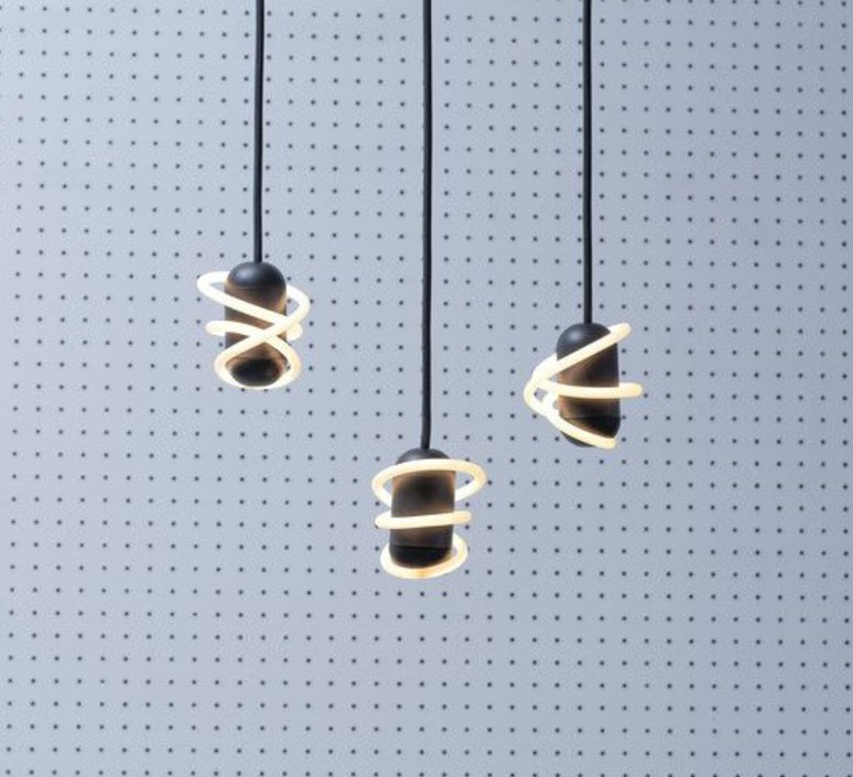 Suspension curli 1 samuel wilkinson suspension pendant light  beem suspension curli1  design signed nedgis 83260 product
