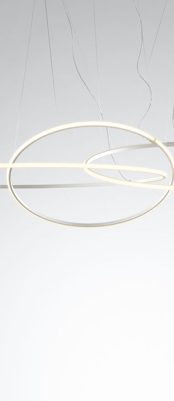 Suspension suspension olympic f45 3 diffusers blanc ip40 led 3000k 34850lm o138 7cm h2 0cm fabbian normal