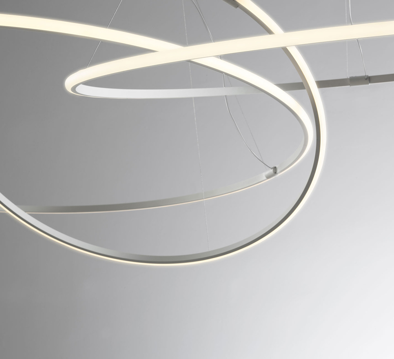 Suspension olympic f45 3 diffusers lorenzo truant suspension pendant light  fabbian f45 a11 01  design signed nedgis 107896 product