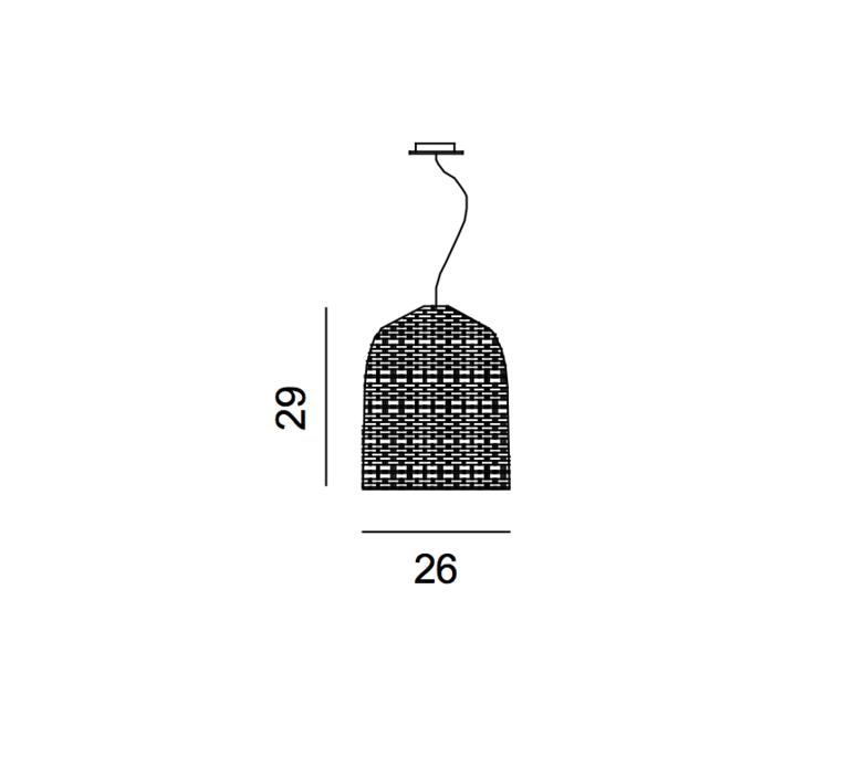 Sweet 91 paola navone suspension pendant light  gervasoni sweet91 bianco  design signed 36322 product