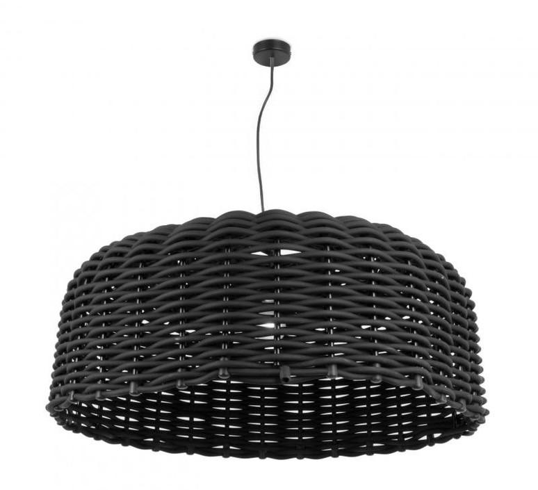 Ranarp Pendant Lamp Black 38 Cm: Pendant Light, Sweet 95, Black, Ø94cm, H38cm