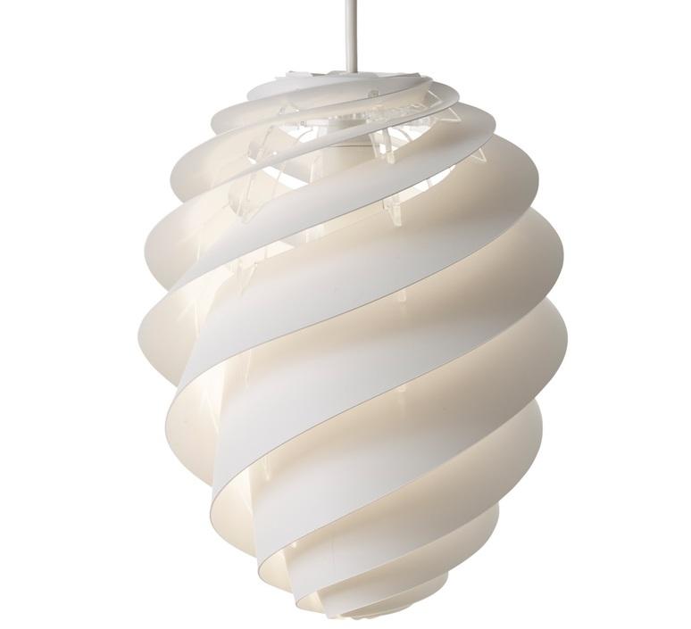 Swirl 2 small oivind slaatto suspension pendant light  le klint 1312s  design signed nedgis 90801 product