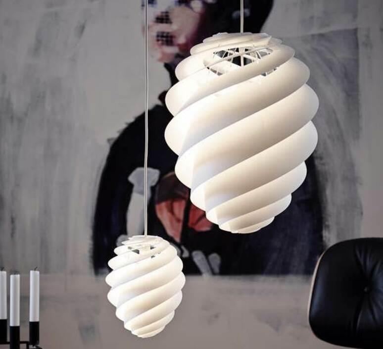 Swirl 2 small oivind slaatto suspension pendant light  le klint 1312s  design signed nedgis 90803 product
