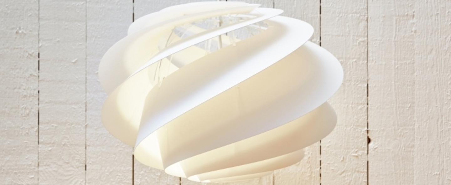Suspension swirl medium blanc o45cm h33cm le klint normal