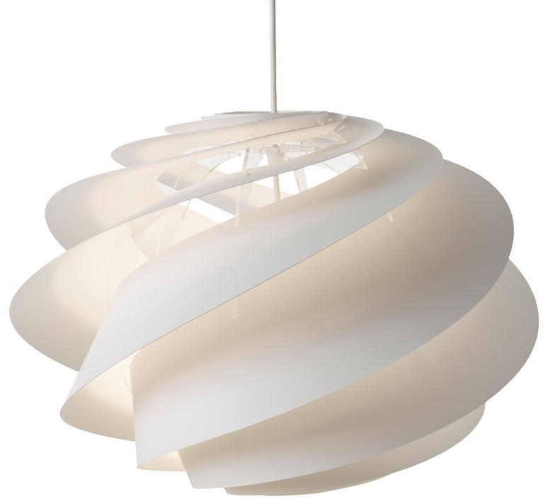 Swirl medium oivind slaatto suspension pendant light  le klint 1311m  design signed nedgis 90789 product