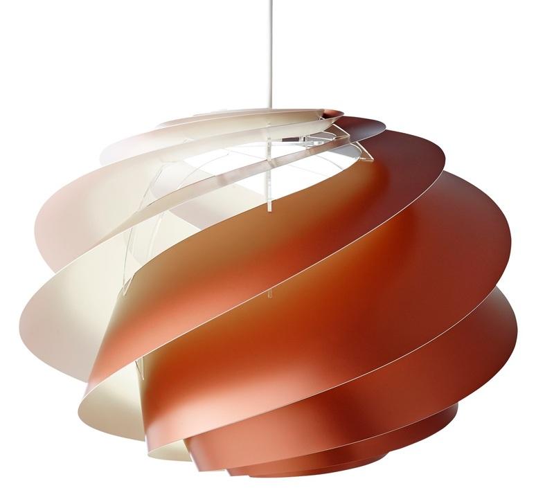 Swirl medium oivind slaatto suspension pendant light  le klint 1311mcp  design signed nedgis 90798 product