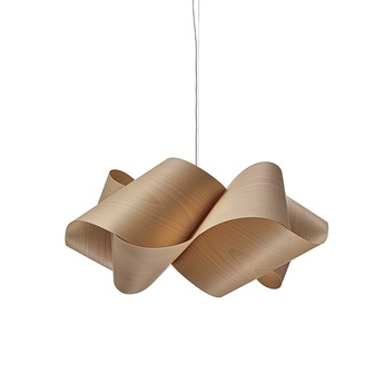 Suspension swirl sg 22 hetre naturel o75cm h35cm lzf normal