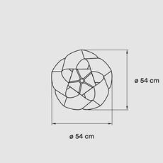Swirl small ray power suspension pendant light  lzf swrl sp wh 21  design signed nedgis 106179 thumb