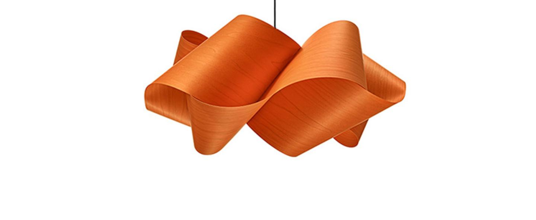 Suspension swirl sp 21 orange o54cm h25 lzf normal
