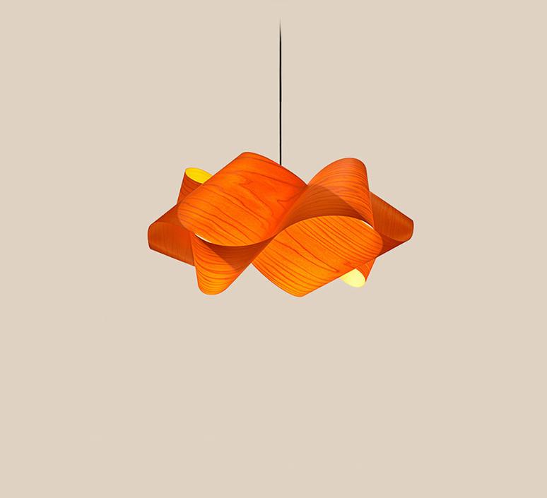 Suspension swirl sp 21 orange o54cm h25 lzf 85661 product