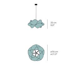 Suspension swirl sp 21 orange o54cm h25 lzf 85662 thumb
