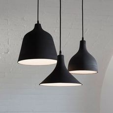 T black edmondo testaguzza suspension pendant light  karman se150 cn int  design signed 49496 thumb