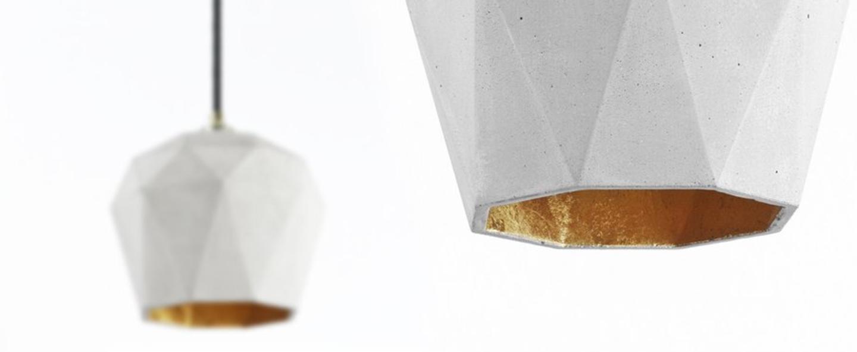 Suspension t3 gris or o21cm h17 5cm gantlights normal