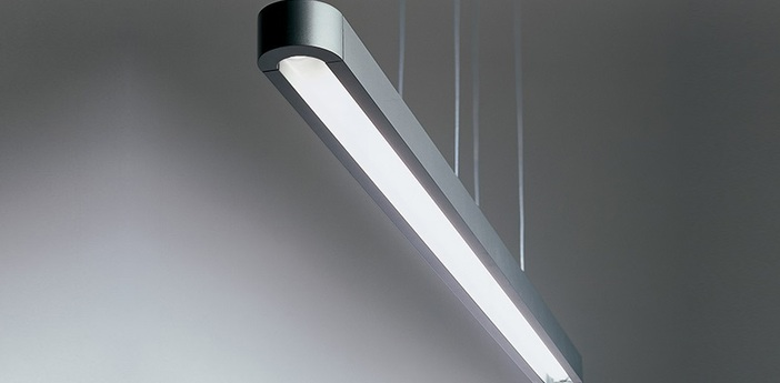 Suspension talo 150 gris l150cm h100 160cm artemide normal