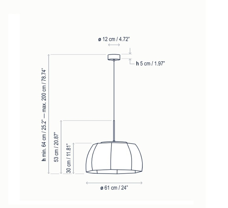 Tanit s 61 alex fernandez camps et gonzalo mila suspension pendant light  bover 26102215158  design signed nedgis 115985 product