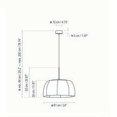 Tanit s 61 alex fernandez camps et gonzalo mila suspension pendant light  bover 26102215158  design signed nedgis 115985 thumb