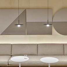 Tempo 5770 lievore altherr studio suspension pendant light  vibia 577018 1b  design signed nedgis 80490 thumb