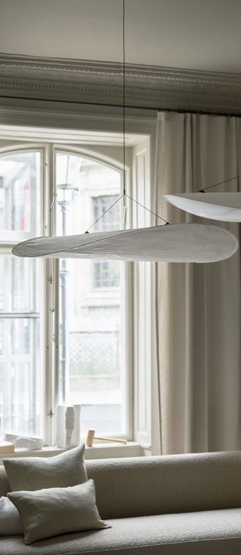 Suspension tense blanc o 120 cm new works normal