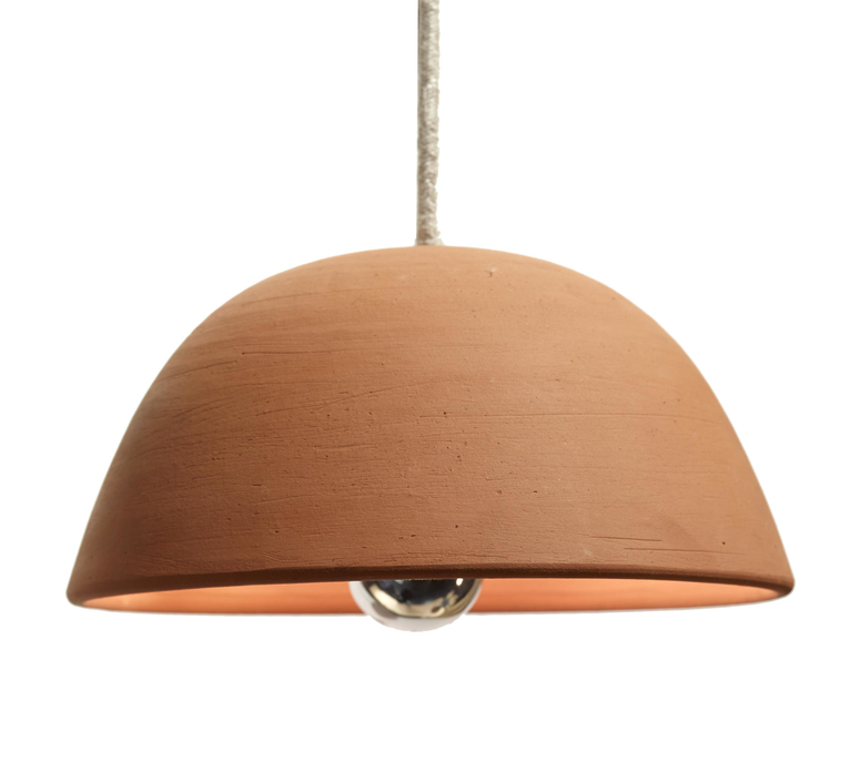 Terracotta bowl studio simple suspension pendant light  serax b7218409  design signed 59710 product