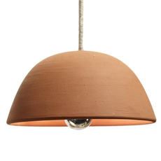 Terracotta bowl studio simple suspension pendant light  serax b7218409  design signed 59710 thumb