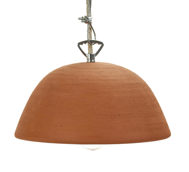 Terracotta bowl studio simple suspension pendant light  serax b7218409  design signed 59711 product