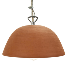 Terracotta bowl studio simple suspension pendant light  serax b7218409  design signed 59711 thumb