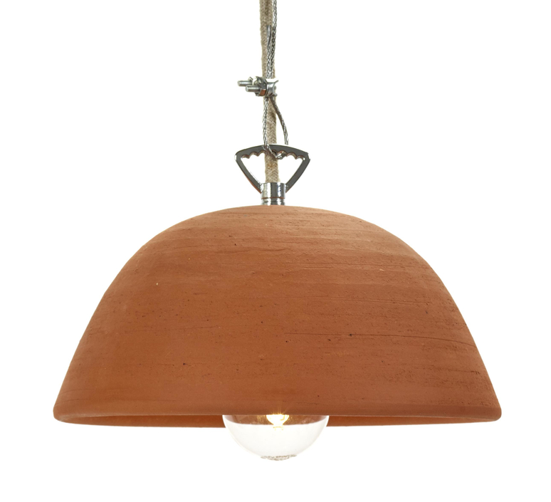 Terracotta bowl studio simple suspension pendant light  serax b7218409  design signed 59712 product