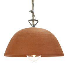 Terracotta bowl studio simple suspension pendant light  serax b7218409  design signed 59712 thumb