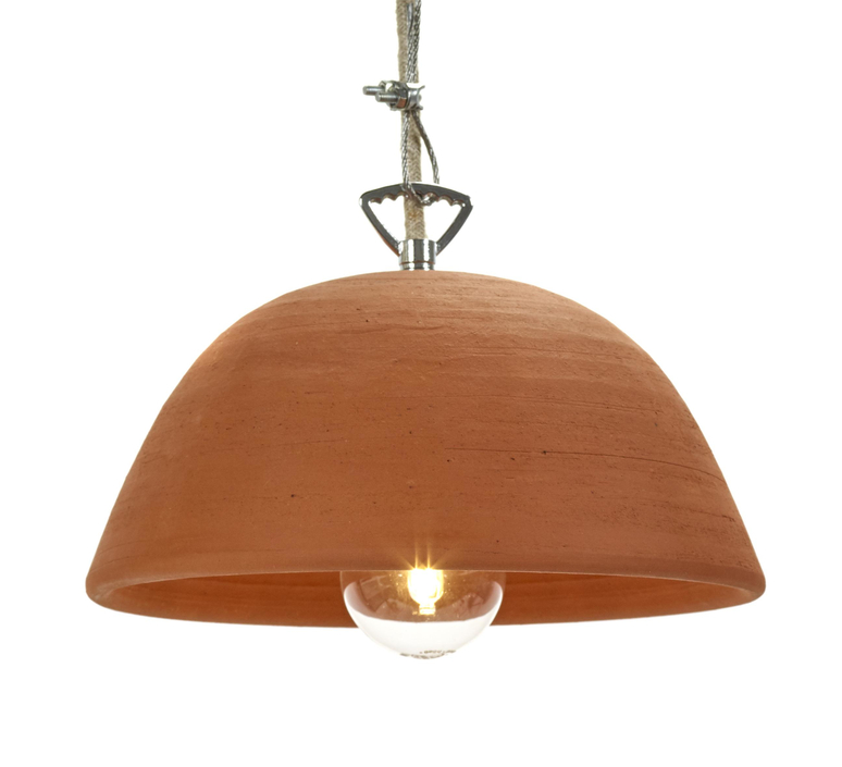 Terracotta bowl studio simple suspension pendant light  serax b7218409  design signed 59713 product