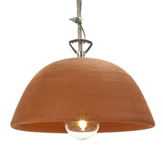 Terracotta bowl studio simple suspension pendant light  serax b7218409  design signed 59713 thumb