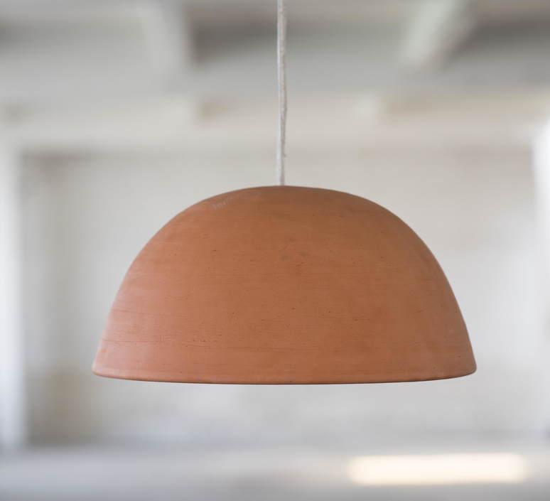 Terracotta bowl studio simple suspension pendant light  serax b7218410  design signed 59714 product