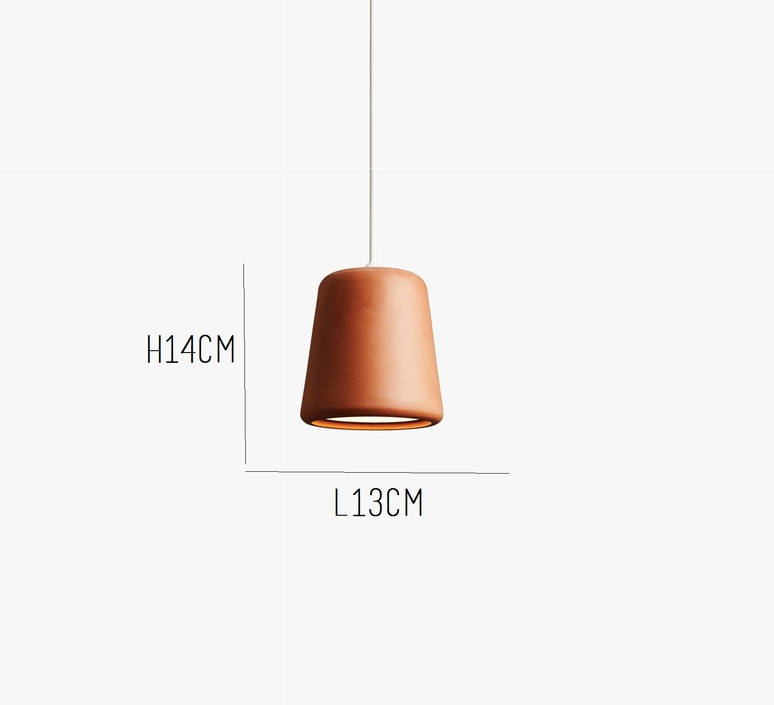 Terracotta noergaard kechayas suspension pendant light  newworks 20120  design signed 30660 product