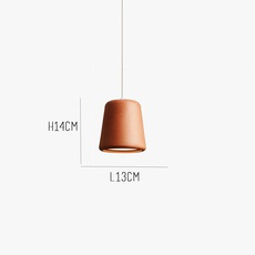 Terracotta noergaard kechayas suspension pendant light  newworks 20120  design signed 30660 thumb