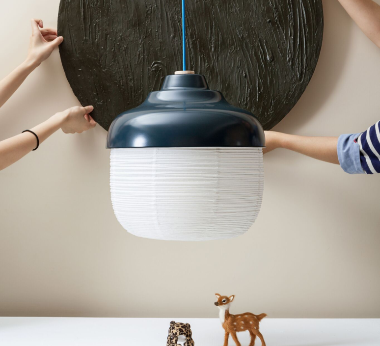 The new old light l kelly lin ketty shih alex yeh suspension pendant light  kimu k103 1203 navyblue  design signed 38957 product