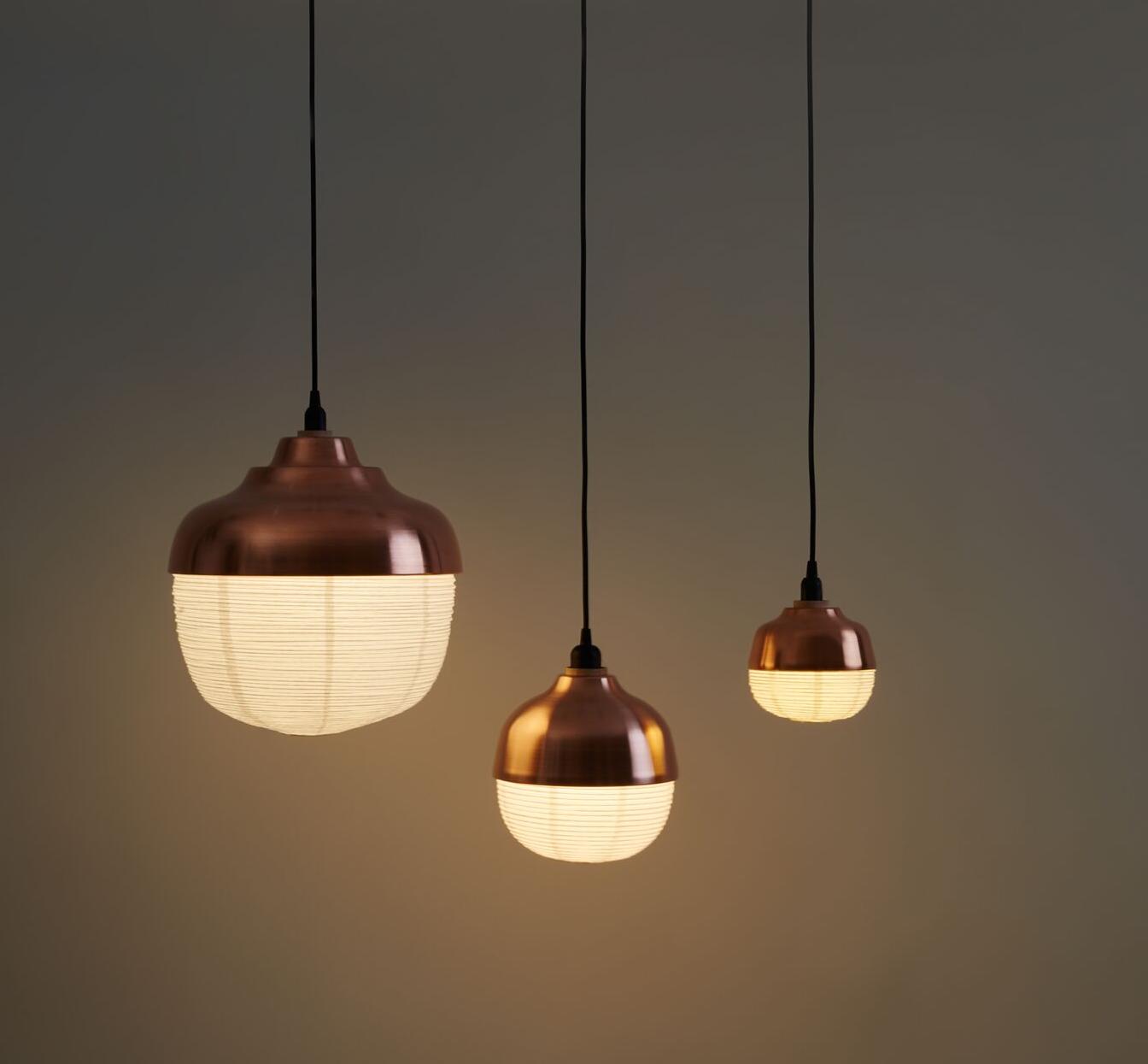 suspension the new old light m cuivre led 24cm h28cm kimu luminaires nedgis. Black Bedroom Furniture Sets. Home Design Ideas