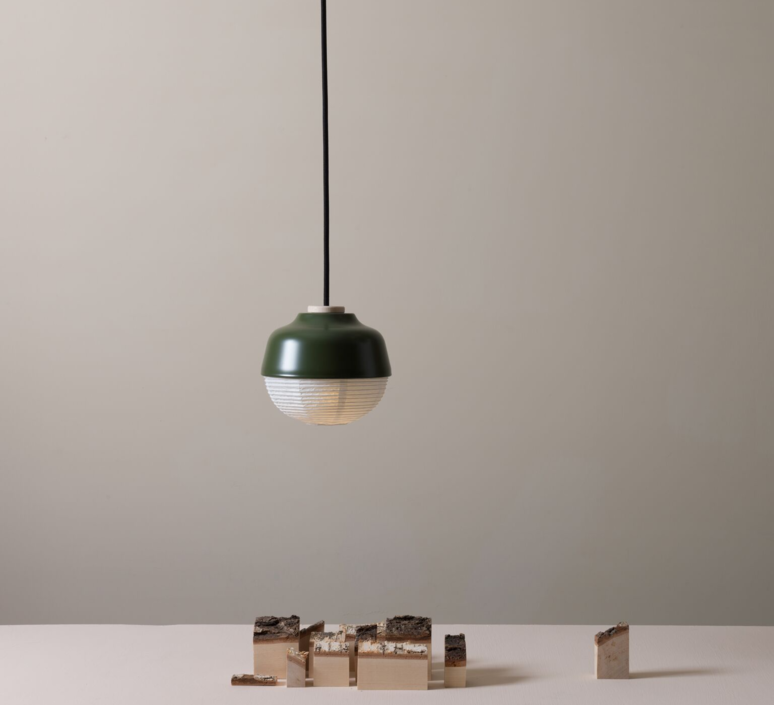 The new old light s kelly lin ketty shih alex yeh suspension pendant light  kimu k103 1201 mazegreen  design signed 38988 product