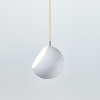 Suspension tilt globe fil beige 3m blanc o20cm nyta normal