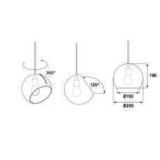 Tilt globe jjoo design nyta tilt globe 1 1 1 luminaire lighting design signed 22716 thumb