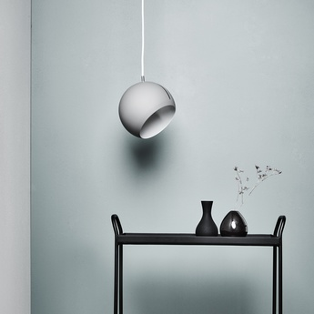 suspension tilt globe fil gris gris 20cm nyta luminaires nedgis. Black Bedroom Furniture Sets. Home Design Ideas