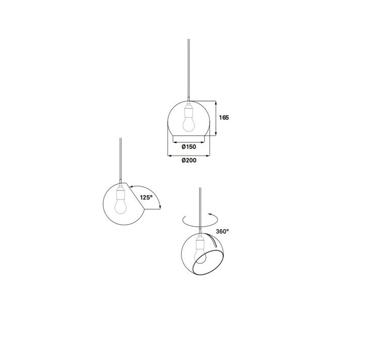 Tilt globe jjoo design nyta tilt globe 1 1 1 luminaire lighting design signed 38353 product