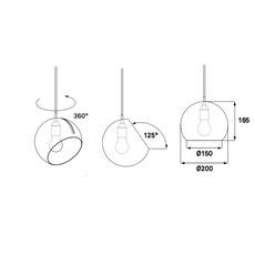 Tilt globe jjoo design nyta tilt globe 2 2 2 luminaire lighting design signed 22720 thumb