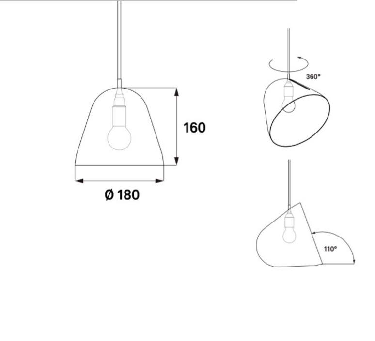 Tilt s jjoo design nyta tilt s 1 1 8 luminaire lighting design signed 22677 product