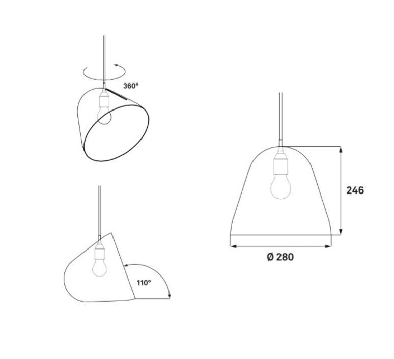 Tilt jjoo design nyta tilt brass 1 1 1 luminaire lighting design signed 22702 product